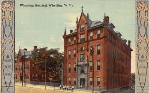 E87/ Wheeling West Virginia Postcard c1910 Wheeling Hospital Fancy 15