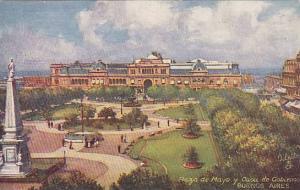 AS, Plaza De Mayo Y Casa De Gobierno, Buenos Aires, Argentina, 1900-1910s