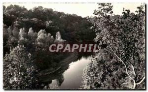 Old Postcard From Around Gueret Gorges De La Creuse