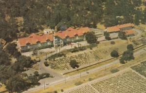 ST. HELENA, CA, 1950-60s; Aerial View Christian Brothers Wine & Champagne Cellar