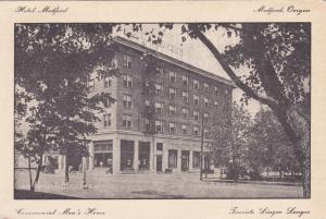 MEDFORD , Oregon, 1900-10s ; Commercial Men's Home