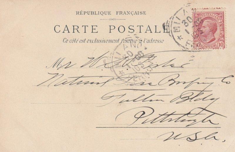 NICE , France , 1908 ; Hotel des Princes et Bellevue