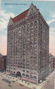 Illinois Chicago Masonic Temple 1916