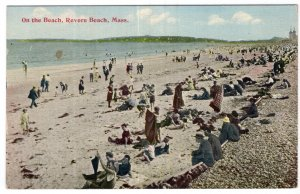 Revere Beach, Mass, On the Beach
