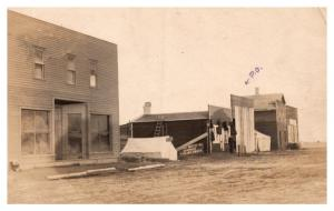 Saskatchewan , Post Office, Moffet Co. Hardware Farm Implements  RPC