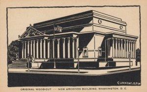 WASHINGTON D. C., 1910-20s ; New Archives Building