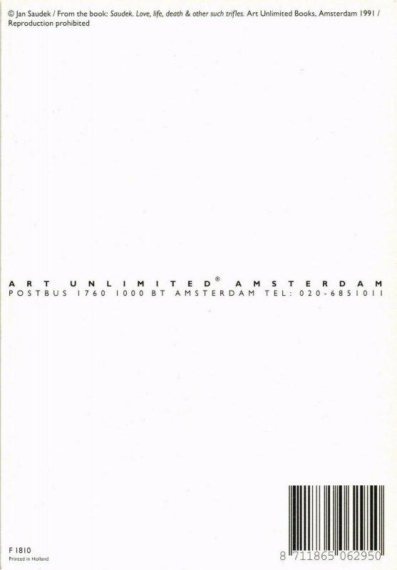 CPM F1810, JAN SAUDEK, SAUDEK. LOVE, LIFE & OTHER SUCH TRIFLES 1991 (d1407)