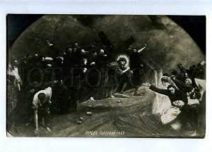 185649 JESUS before Death by Jean BERAUD Vintage PC