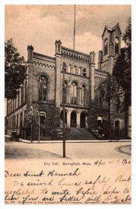 Massachusetts Springfield  City Hall