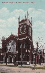TORONTO, Ontario, Canada, PU-1914; Central Methodist Church
