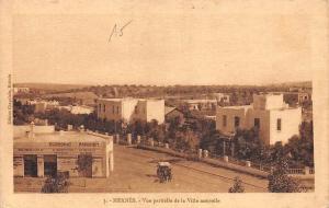 Morocco Meknes Vue Partielle de la Ville Nouvelle, Economat Parisien Panorama