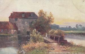 BERKSHIRE , UK , 00-10s ; Brimpton Mill on the Kennet : TUCK 7536