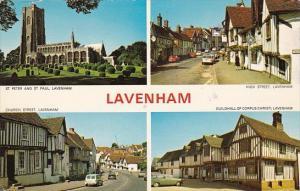 England Lavenham Multi View Church Street High Street