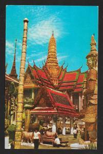 Royal Pantheon Grand Palace Bangkok Thailand unused c1950's