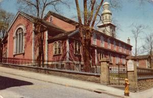 USA St Paul's Church Halifax Nova Scotia
