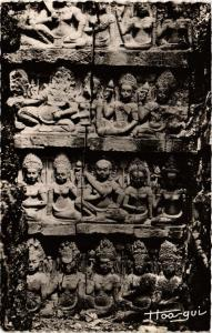 CPA CAMBODIA ANGKOR-THOM - Terrasse du Roi Lépreux (301434)