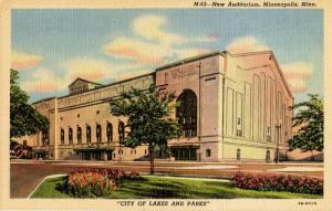 MN - Minneapolis. New Auditorium