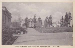 Washington Seattle Campus Scene University Of  Washington