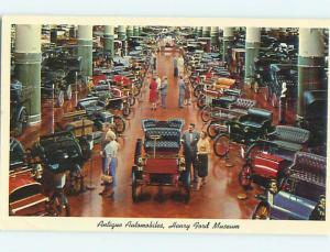 Pre-1980 VERY OLD CARS AT HENRY FORD MUSEUM Dearborn Michigan MI Q1065