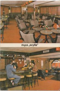 m.p.s. scylla, unused Postcard