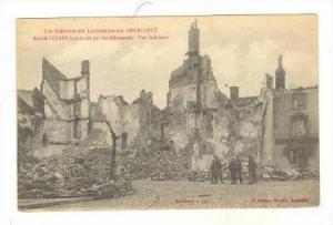 Raon-l'Étape Bombarde Par Les Allemands, Vue Interieure, Raon-l'Étape (Vosg...