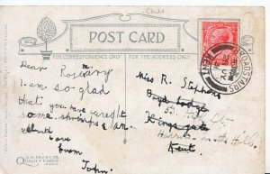 Genealogy Postcard - Family History - Stephens - Harrow on the Hill    BH5303