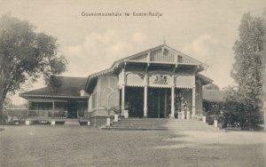 Indonesia Gouverneurshuis te Koetaradja Indië 03.74
