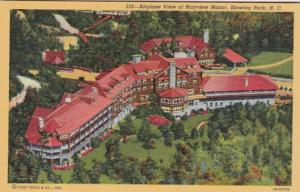 North Carolina Blowing Rock Airplane View Of Mayview Manor Curteich