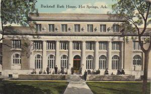 Arkansas Hot Springs Buckstaff Bath House