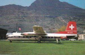 Globe Air Handley Page H P R 7 Dart Heraald 210
