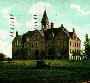 Fargo College Fargo North Dakota ND Undivided Dietro Udb 1907 Vtg Cartolina