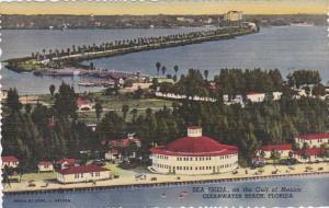 Florida Clearwater Beach Sea Shell Hotel Curteich
