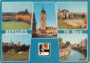 France Bergues Le Port, Le Beffroi, La Porte de Cassel, Tours de l'Abbaye