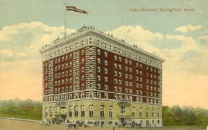 MA - Springfield. Hotel Kimball