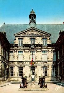 France Verdun La Cour de l'Hotel de Ville The Town Hall