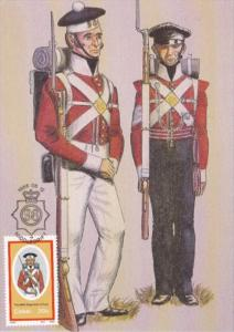 Military Uniforms 98th Regiment Of Foot Private and Sargeant Undress Uniform ...