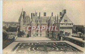 Postcard Old Chateau Langeais Facade Meridionale