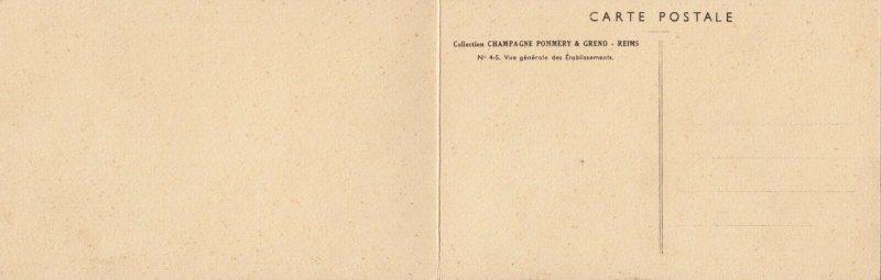 REIMS , France , 00-10s ; Champagne Pommery & Greno