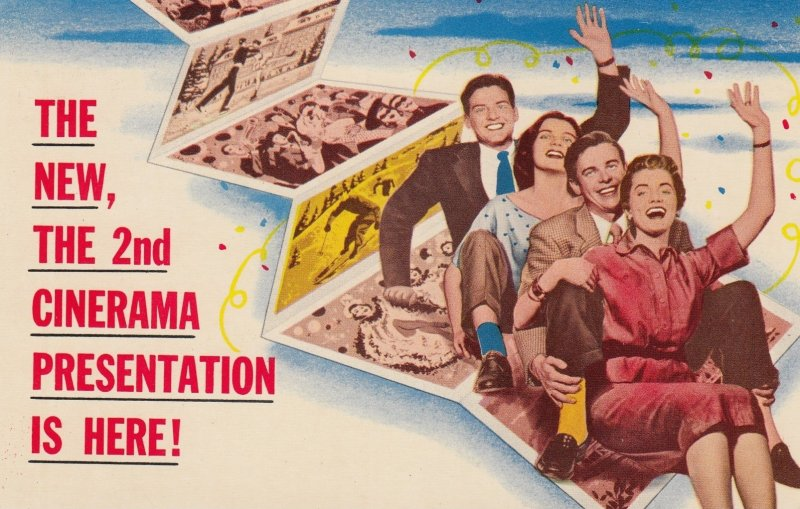 PHILADELPHIA, Pennsylvania, 50-60s; Boyd Theatre, Home of Cinerama Holiday