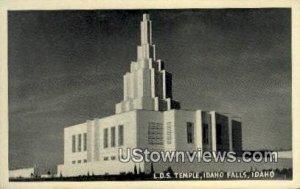 LDS Temple - Idaho Falls , Idaho ID