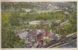 UPPER MAUCH CHUNK & MAUCH CHUNK, Pennsylvania, 00-10s; From top of Flagstaff Mt.