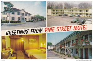 Scenic Greetings from Pine Street Motel,  Spartanburg,  South Carolina,  40-60s