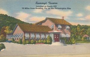 Rummy's Tavern on Philadelphia Pike near Reading PA, Pennsylvania - Linen