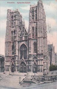Belgium Brussells Eglise Sainte Marie 1911