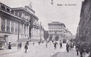 ROMA, Lazio, Italy, 1900-1910s; Via Nazionale