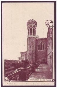 Palestine Jerusalem Postcard - Une Tour De N-D de France