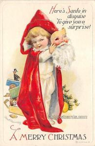 Holiday Postcards International Art Publishing Co. Unused