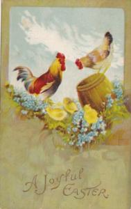 Easter With Chickens 1912