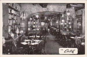 New York City The Cortile Restaurant Interior