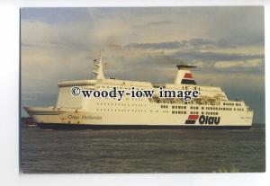 FE1062 - Olau Line Ferry - Olau Hollandia , built 1981 - postcard